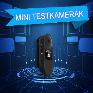 Mini testkamerák