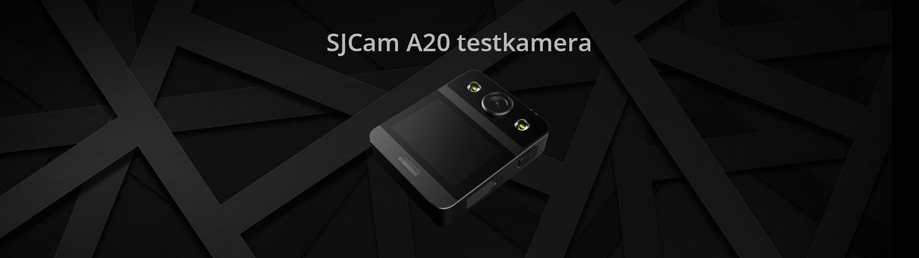 SJCam A20 testkamera